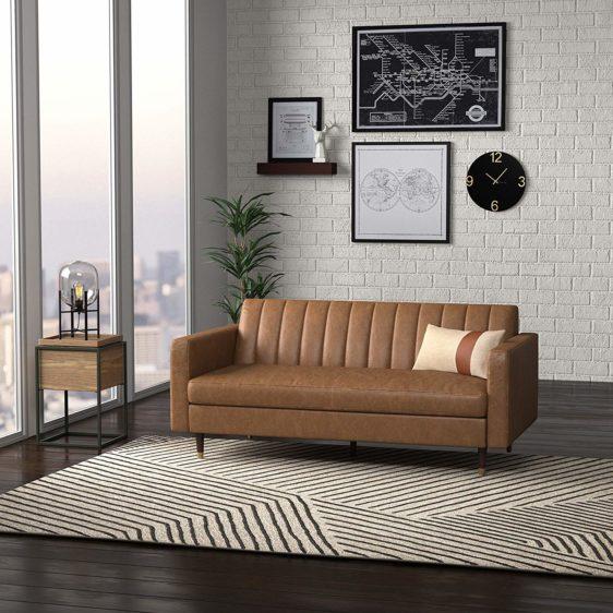 Backed Loveseat Furniture For Living Room