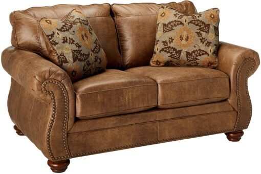 One Side Loveseat Plus Toss Pillows in Lagos