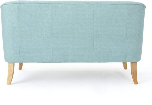 Modern Fabric Loveseat in Ikoyi