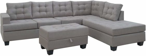 Sectional Sofa with Chaise for Living Room Furniture in Lekki