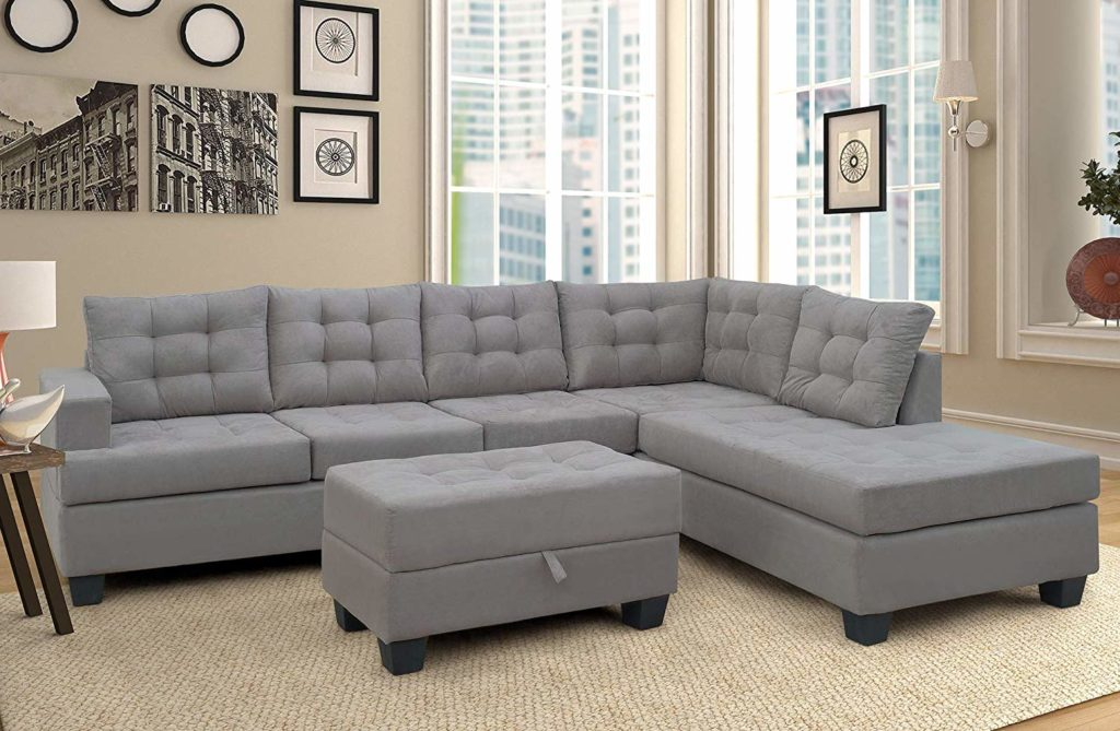 Sectional Sofa with Chaise for Living Room Furniture in Port-harcourt