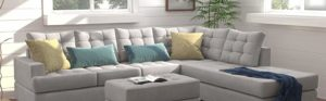 Sectional Sofa with Chaise for Living Room Furniture in Lagos