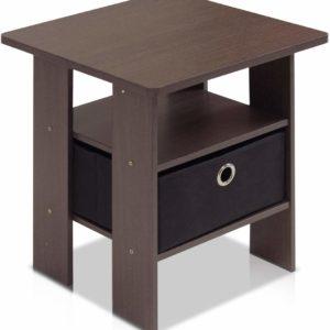 Table Bedroom Side Stool in Lag