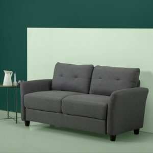 Upholstered 62.2 Inch Sofa Couch Loveseat Lagos