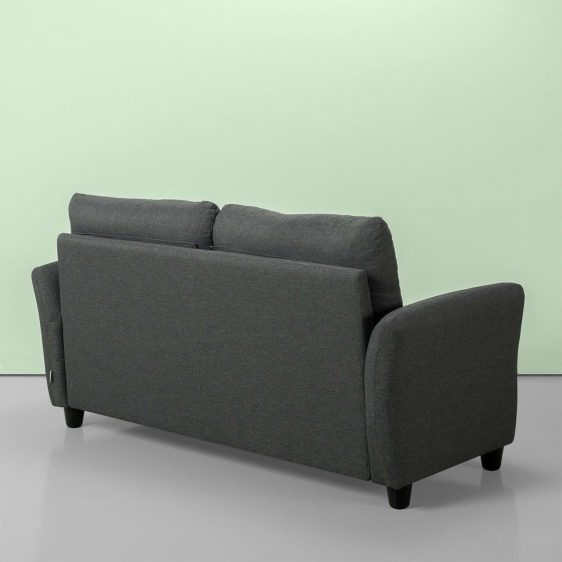 Upholstered 62.2 Inch Sofa Couch Loveseat Ikoyi