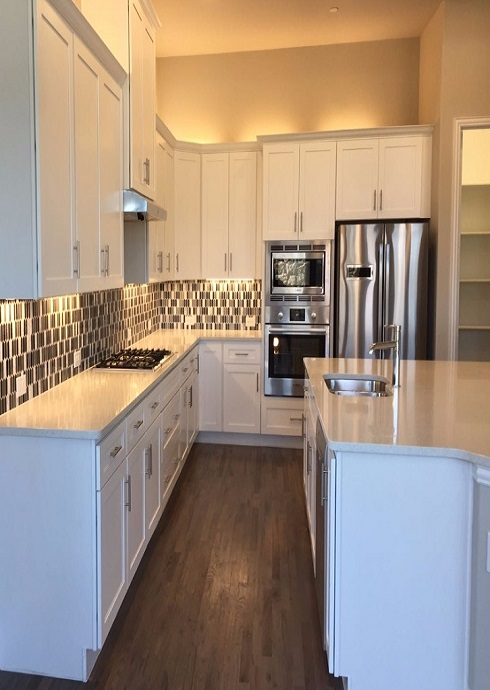 Modern Black Kitchen Cabinet