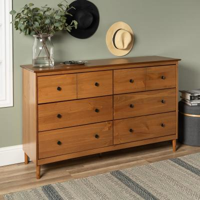 Wooden Dresser And Chest