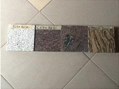 Granite counter top  Cabinet