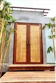 bamboo-jute composite doors