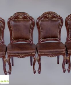 Italian Leather Dinning Set
