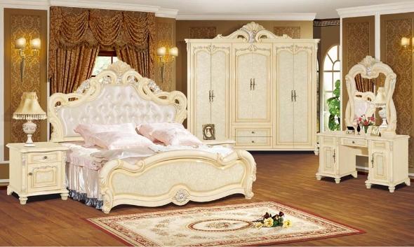 Lebanon Cedars Royal Luxury Turkish Style Bedroom Set Furniture